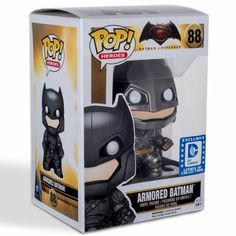 Armored Batman Pop! Heroes Funko POP! Vinyl