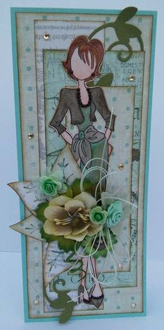 Card by Tanya Scrapbooking.