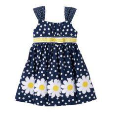 Baby Girl Blueberi Boulevard Polka-Dot Sundress
