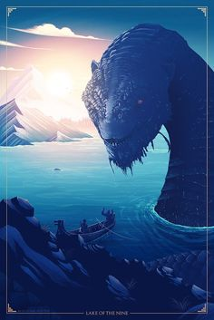God of War, Jörmungandr the World Serpent World Serpent, God Of War Series, Kratos God Of War, Video Game Art, Video Games, Poster Series, Fan Art, Norse Mythology, Fantasy Creatures