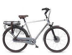 Sparta F8e - elektrische stadsfiets. Comfortabele elektrische fiets met lichte, geruisloze motor.