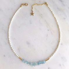 Diy Jewelry Necklace, Seed Bead Jewelry, Gemstone Jewelry, Beaded Jewelry, Jewelery, Beaded Bracelets, Diy Bracelets Easy, Bracelet Crafts, Jewelry Crafts