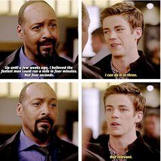 The Flash - Barry and Joe #1.2 #Season1