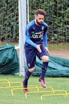 Francesco Zampano of Italy during a training session at Coverciano on November 22, 2016 in Florence, Italy.