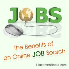 The Benefits of an Online Job Search « Career & Education ...