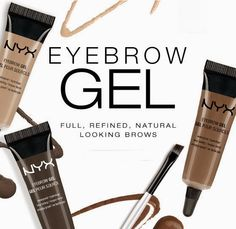 NEW! NYX Eyebrow Gels