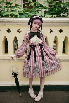 Yolanda -The Lolita Kittens- Lolita OP Dress