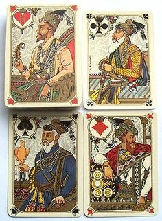 Vintage Playing Cards Stunning Orient Express Railway Grimaud Indiennes Sealed | eBay