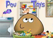 Pou Washing Toys | Garfis juegos online