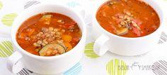 Wegańska zupa z soczewicą - Biblia Smaków