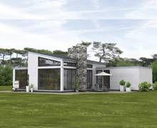 Fertighaus modern pultdach  Bungalow L mit Pultdach von Rensch-Haus | Architecture | Pinterest ...