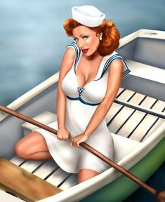 Pinup girls by Jessica Dougherty
