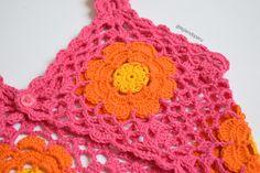 Bolero modelo tank top tejido a #crochet para niñas y adolescentes... paso a paso en video tutorial!