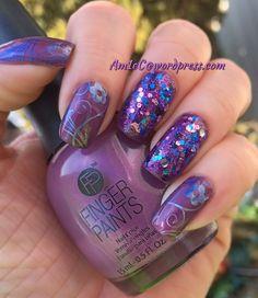 Finger Paints Magenta Mural; Dance Floor Diva; BM 719
