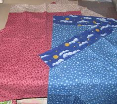 Bobbie H. made these pillowcases to donate to Little Singer Community School…