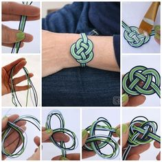 How to make love bracelet step by step DIY instructions, How to, how to make, step by step, pictures, diy instructions, craft, do it yourself