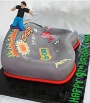 Skateboard park birthday cake.JPG