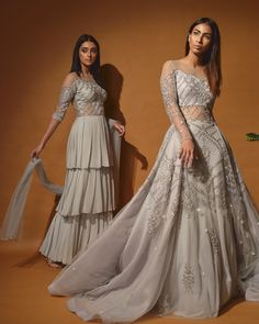 The Most Interesting Lehengas On Our Stalking List This Summer! Indian Wedding Fashion, Indian Wedding Outfits, Bridal Outfits, Indian Outfits, Indian Fashion, Fashion Wear, Fashion Dresses, Style Fashion, Fashion Beauty