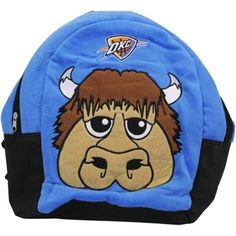 Oklahoma City Thunder Youth Mini Plush Rumble Backpack