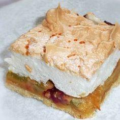 Habos-rebarbarás sütemény Recept képpel - Mindmegette.hu - Receptek