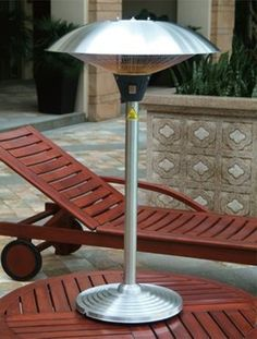 Outdoor Patio Table Top Infra Red Patio Heater