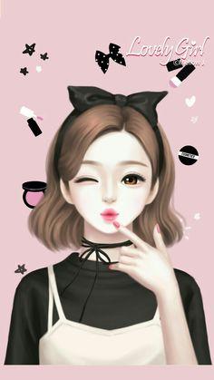 Enakei y iphone wallpaper korean, backgrounds girly, korean anime, anime korea, cute Anime Korea, Korean Anime, Cute Kawaii Girl, Cute Cartoon Girl, Korean Illustration, Illustration Girl, Anime Art Girl, Manga Girl, Backgrounds Girly