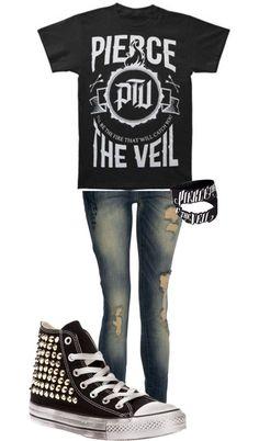 Pierce The Veil Outfit: