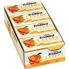 Trident Layers Peach MANGO Gum #ChewOnThis