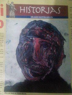 """En la edición 255 del semanario Hildebrandt en sus trece (del 19 al 25 de junio) aparece mi relato """"MI VIEJO"""". 2015."""