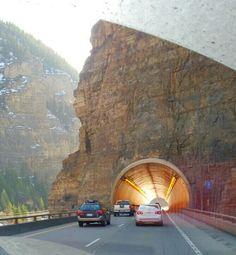 Near Denver.....not my favorite tunnel.