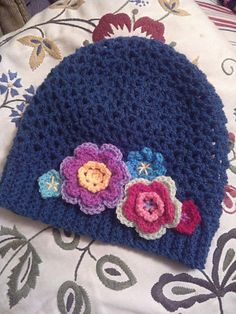Ravelry: The Perfect V-Stitch Hat pattern by Sarah Lora