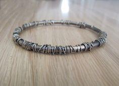 """a crown of thorns"" bracelet"