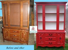 Painting furniture and the clear gloss you can use that won't turn yellow!