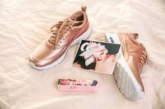 Nike's New Rose-Gold Sneakers Are Every Fashion Girl's Dream via @WhoWhatWearAU