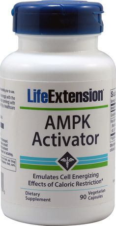 Life Extension AMPK Activator -- 90 Vegetarian Capsules - Vitacost