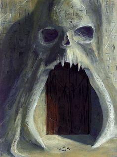 The Crypt of Alaham (The Temple of Dagon Fantasy Rpg, Fantasy World, Dark Fantasy, Lovecraft Cthulhu, Call Of Cthulhu, Fantasy Places, Fantasy Illustration, Fantasy Inspiration, Fantasy Landscape