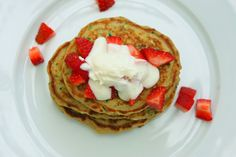 Any mom of young kids loves quick, healthy and versatile when it comes to cooking. These mini-pancakes can be made for breakfast (or any time during the day) – just add berries and yoghurt. Left over pancakes can be frozen and re-heated in the toaster for those mornings that you need to whip up something fast and fabulous.