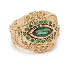 Aurelie Bidermann Fine Jewelry Aurelie Bidermann Fine Jewelry Cashmere... (528,250 INR) ❤ liked on Polyvore featuring jewelry, rings, gold jewellery, 18 karat gold jewelry, aurelie bidermann ring, aurelie bidermann jewelry and 18k ring