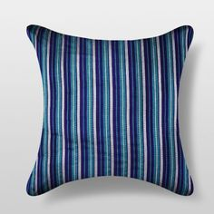 Nakalchee Bandar Blue Cushion Cover 2 Pcs - Make yourself at home with soothing cushion covers for company. This two piece set from Nakalchee Bander will soothe you after a hard day's work and comes with a mesmerizing striped design. Made of the finest poly dupion, this set looks lovely in blue and will please you immensely.