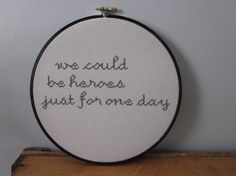 why i need to learn to cross-stitch