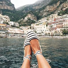 ESPADRILLES are the quintessentially Mediterranean footwear, for it seems that during the summer months, they become the shoe of choice of European women everywhere from Andalucía to the Amalfi Coast. There's something easy-going and chic about the artisanal canvas wedge espadrille, for the expert craftsmanship makes them not only comfortable to walk in, but a perfect »