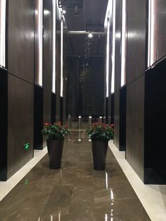 Inside Xiamen's tallest towers are our Gris Pulpis #marble. A spectacular #project for our Xiamen Yundang Industry customer.
