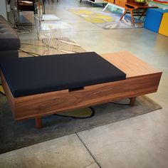 Loving the new Mimico Storage Ottoman by Gus Modern! #gus @justmodern