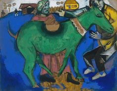 Marc Chagall - The Green Donkey