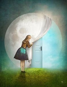 Secret Entrance by Christian Schloe
