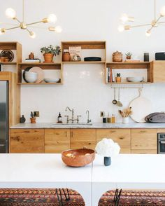 community workspace @theassemblysf open kitchen shelving. / sfgirlbybay