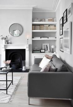 My soft, minimalist living-room makeover | The reveal | These Four Walls