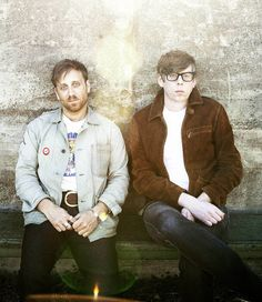 The Black Keys - Dan Auerbach  & Patrick Carney.