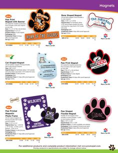 Promotional Personalized Pet Magnets
