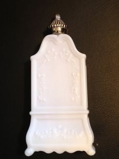 Vintage Avon bottle white Field Flowers bath by MyBijouxBoutique, $5.00